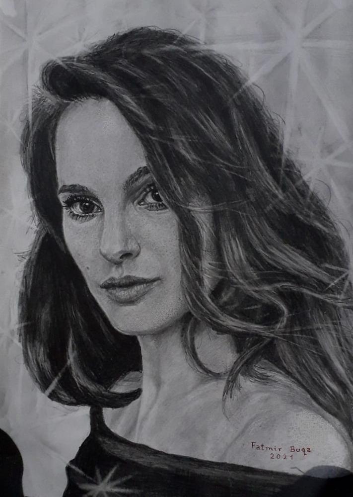 Natalie Portman by Fatmirbuqa